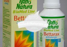 BETTARAX (ANTIALERGIC) 100cps ROTTA NATURA Tratament naturist urticarii conjuctivite stomatite rinite