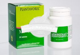 NERVOSEDIN C 20tb PLANTAVOREL Tratament naturist sedativ asupra sistemului nervos emotivitate neliniste hipersensibilitate