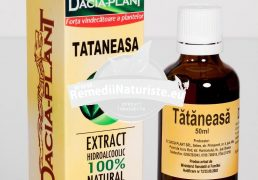 TINCTURA TATANEASA 50ml DACIA PLANT Tratament naturist tumori tulburari digestive colita ulcer gastric