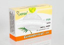 MLADITE TUIA 30 monodz HOFIGAL Tratament naturist hemoragii epistaxis hemoragii gastro-intestinale melena