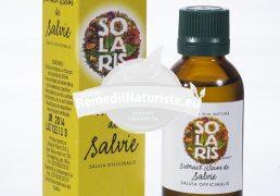 EXTRACT ULEIOS DE SALVIE 30ml SOLARIS Tratament naturist gingivite aftoza bucala inflamatii gastrointestinale colica biliara