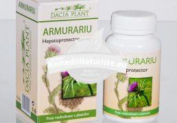 ARMURARIU 60cpr DACIA PLANT Tratament naturist hepatoprotector ficat insuficienta hepatica litiaza biliara