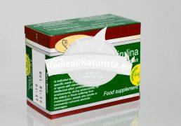 SPIRULINA CU EXTRACT TOTAL DE CATINA 40cpr HOFIGAL Tratament naturist regleaza si echilibreaza metabolismul gastrita ulcer gastric si duodenal hepatita cronica