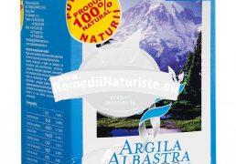 ARGILA ALBASTRA DE RACIU PLICURI 5x100gr ROMCOS Tratament naturist uz cosmetic gingivite afte bucate parodontoza