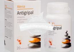 ANTIGRIPAL 20cpr ALEVIA Tratament naturist raceala si gripa gripa imunostimulent vitaminizant