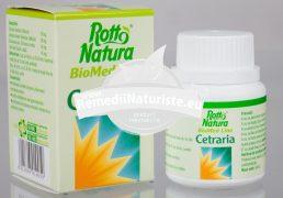 CETRARIA 30cps ROTTA NATURA Tratament naturist gripa bronsita cronica astm traheobronsita
