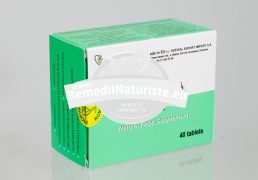 SPIRULINA 1000mg 40tb HOFIGAL Tratament naturist hepatita cronica ciroza hepatica gastrita ulcer gastric si duodenal