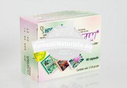 HEPASTIM 40 cps HOFIGAL Tratament naturist hepatita cronica ciroza insuficienta hepatica steatoza hepatica