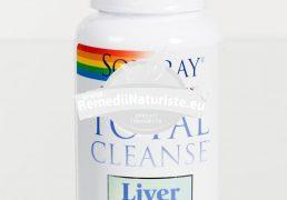 TOTAL CLEANSE LIVER 60cps SECOM Tratament naturist detoxifiant tonic hepatic hepatita cronica colestaza