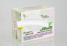 COMPLEX DETOXIFIANT 40cpr HOFIGAL Tratament naturist hepatite cronice insufincienta hepatica urticarie hepatita cronica