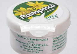UNGUENT ROSTOPASCA 40gr LARIX Tratament naturist antibacterian antimicotic antiviral herpes