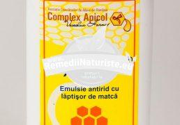 APIDERMIN-EMULSIE ANTIRID (fost Apiten) 100ml COMPLEX APICOL Tratament naturist emulsie demachianta si hidratanta pentru ten ridat hidratare ten antirid demachiant