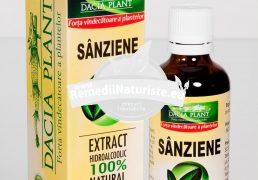 TINCTURA SANZIENE 50ml DACIA PLANT Tratament naturist cistita edeme reumatism afectiuni ale tiroidei