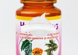 HYPER-GAS 60cps HYPERICUM Tratament naturist gastrite hiperacide hiperaciditate gastrica ulcer gastroduodenal pirozis