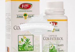 COLESTEROL 60cps FARES Tratament naturist ajuta la mentinerea nivelului normal al colesterolului hipercolesterolemie dislipidemie hipertensiune arteriala