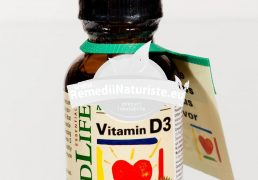 VITAMIN D3 29.6ml CHILDLIFE SECOM Tratament naturist stimuleaza absorbtia calciului si a fosforului hipocalcemie rahitism osteoartrita
