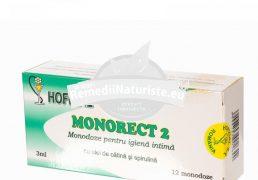 MONORECT 2 12X3ml monodz HOFIGAL Tratament naturist monodoze pentru igiena intima igiena intima a regiunii ano-rectale combaterea disconfortului local