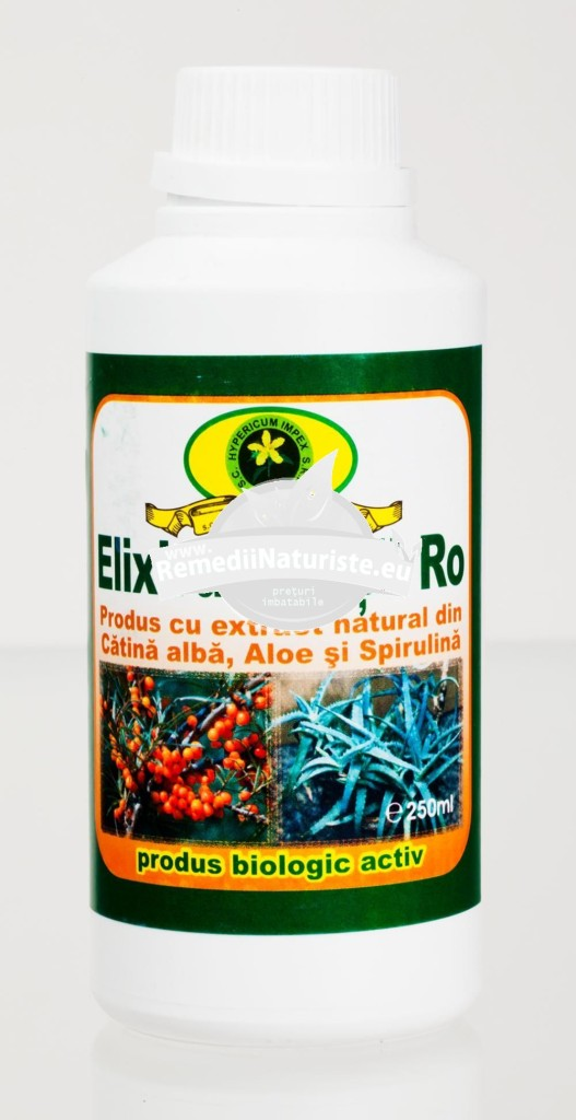 ELIXIRUL VIETII 250ml HYPERICUM Tratament naturist vitaminizant energizant detoxifiant imunitate