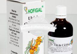 ULEI CATINA 100ml HOFIGAL Tratament naturist tonifiant general antianemic vitaminizant imunitate