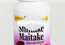 SHIITAKE-MAITAKE 60cps SECOM Tratament naturist adaptogen tonic general imunitate terapii antitumorale