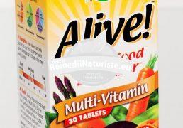 ALIVE (fara fier) 30tb SECOM Tratament naturist energizant imunostimulent imunitate scazuta detoxifiere
