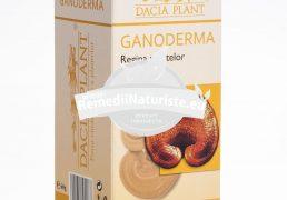 GANODERMA 60cpr DACIA PLANT Tratament naturist infectii recidivante-respiratorii urinare afectiuni cardiace-cardiopatii insuficienta