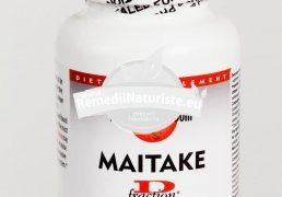MAITAKE D-FRACTION 120cps SECOM Tratament naturist imunostimulator protector hepatic imunostimulent complementar in terapiile antitumorale