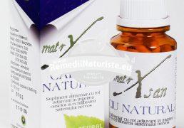 CALCIU NATURAL 60cps HYPERICUM Tratament naturist intarirea oaselor echilibrarea sistemului nervos in carenta si completarea necesarului de calciu si magneziu hipocalcemie