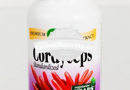 CORDYCEPS 60cps SECOM Tratament naturist imunomodulator adaptogen tonic general in terapii antitumorale
