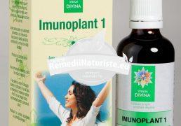 IMUNOPLANT 1 50ml SANTO RAPHAEL Tratament naturist stimulent al imunitatii antiinflamator antimicrobian infectii acute si cronice virale, bacteriene, parazitare