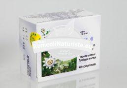 PASSIFLORA 40cpr HOFIGAL Tratament naturist insomnie cu dificultatea inducerii starii de somn iritabilitate palpitatii extrasistole