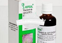 TINCTURA LAVANDA 50ml HOFIGAL Tratament naturist migrene insomnii nervozitate insomnie