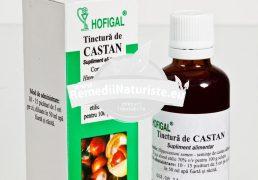 TINCTURA CASTAN 50ml HOFIGAL Tratament naturist diaree indigestii hemoroizi varice