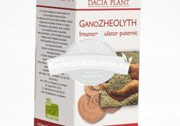 GANOZHEOLYTH 60cpr DACIA PLANT Tratament naturist imunomodulator intoxicatii cu metale grele, cu pesticide, cu xenoestrogeni iradiere gastrita hiperacida