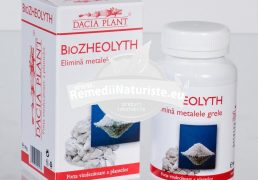 BIOZHEOLYTH 60cpr DACIA PLANT Tratament naturist elimina metalele grele intoxicatii cu metale grele intoxicatii cu pesticide intoxicatii cu xenoestrogeni