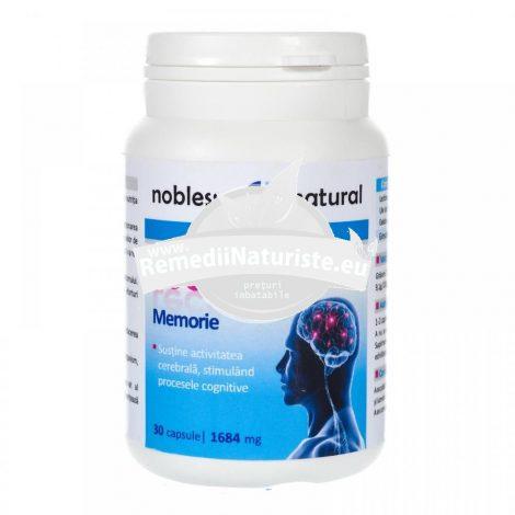 LECITINA 30cps NOBLESSE NATURAL Tratament naturist sustina activitatea cerebrala memoria invatare memorare