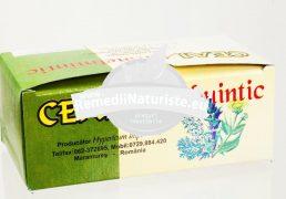 CEAI ANTIHELMINTIC 30gr HYPERICUM Tratament naturist impotriva parazitilor intestinali lambriaza giardioza ascaridioza