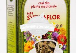 CEAI SLABIT SVELTAFLOR 50gr FARES Tratament naturist ceai pentru slabit laxativ-purgativ diuretic sudorific