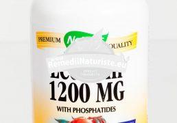 LECITHIN 1200mg 100cps SECOM Tratament naturist memorie capacitate de concentrare concentrare alzheimer