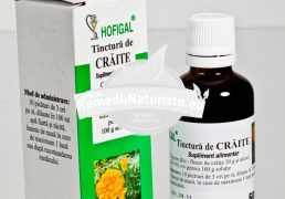 TINCTURA CRAITE 50ml HOFIGAL Tratament naturist miopie glaucom retinita pigmentara hemeralopie diurna