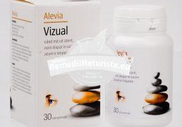 VIZUAL 30cpr ALEVIA Tratament naturist miopie hemeralopie oboseala vizuala vedere nocturna