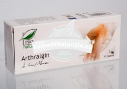 ARTHRALGIN 30cps BLISTER MEDICA Tratament naturist artroze artrite entorse motilitate articulara
