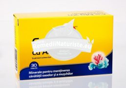 CA MG ZN CU AQUAMIN 30tb WALMARK Tratament naturist minerale pentru mentinerea sanatatii oaselor si muschilor oase dinti inima