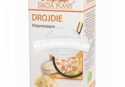 DROJDIE 60cpr DACIA PLANT Tratament naturist vitaminizant oboseala cefalee palpitatii
