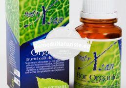 BOR ORGANIC 60cps HYPERICUM Tratament naturist intarirea oaselor reduce osteoporoza ameliorarea durerilor osteoporoza