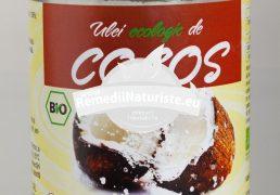ULEI DE COCOS BIO 350ml SANTO RAPHAEL Tratament naturist par deteriorat piele uscata lubrifiant par vopsit