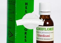 HELMIFLORES 25ml FARMACIA VERDE Tratament naturist pentru persoanele suspecte de giardia pentru persoane suspecte de giardia