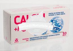 CALCIU MAGNEZIU ZINC 30cpr BIOFARM Tratament naturist perioada de crestere sarcina lactatie varstnici