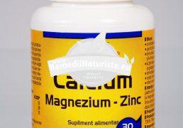 CA MG ZN 30tb WALMARK Tratament naturist rahitism stres stari depresive afectiuni ale prostatei