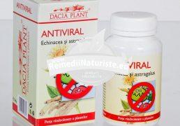 ANTIVIRAL 60cpr DACIA PLANT Tratament naturist raceala faringita laringita amigdalita